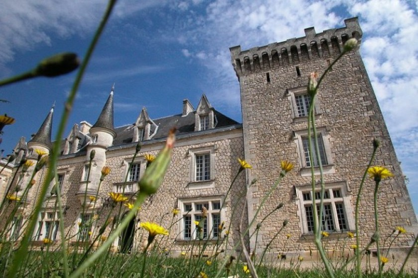 Chateau de la Couronne, boutique hotel, chateau rental, Charentes, France VIA From the Poolside blog on boutique hotels and stylish rentals for family holidays
