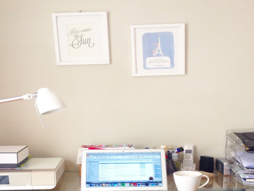 Blogger's desk, From the Poolside blog on boutique hotels and stylish rentals