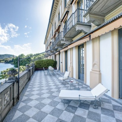Villa d'Este, luxury hotel on the shores of Lake Como. Very classic Italian palace with a floating pool. Prices are on par with the location and style. So probably best to keep it for this special romantic trip. From 500 Euros a night