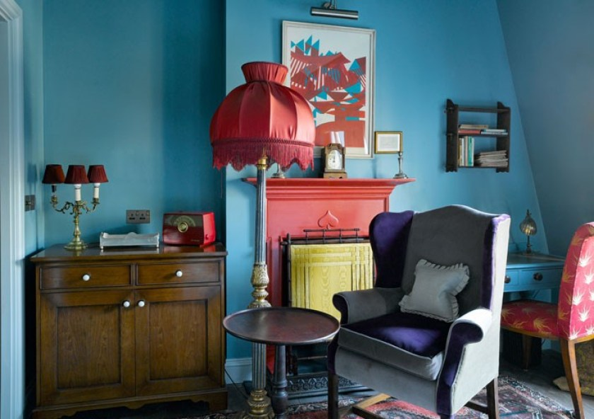 Zetter Townhouse Marylebone, opening in London in 2015. 13 bedrooms individually decorated in a Georgian townhouse