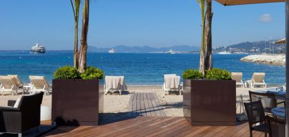 Cap d'Antibes Beach hotel, 22 rooms, from 330 Euros off season