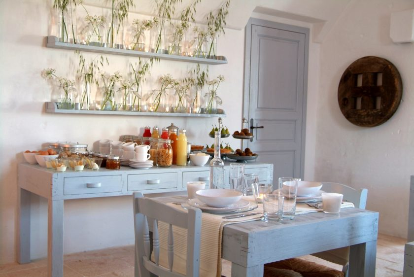 Masseria Cimino in Puglia, Itzaly. Only 15 rooms in a beautiful restored house just meters from the sea. Good rates in off season (90 euros !). Click to find more beach boutique hotels in Italy, France, Spain, Greece and more.