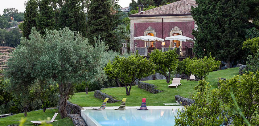 Monaci delle Terre Nere, is a beach boutique hotel in Sicily, Italy. Rooms from 244€