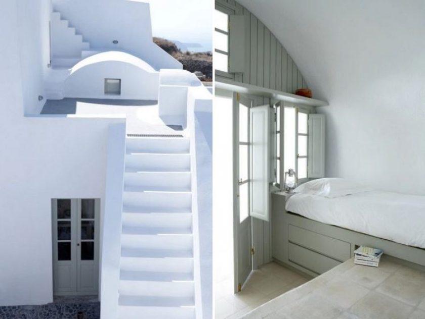 Villa Fabrica, a beautiful villa rental in Santorini, Greece.