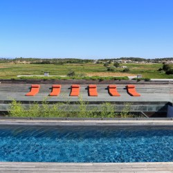 Casa do Pego, a design villa rental in Comporta, Portugal. 3 bedrooms and a heated pool.