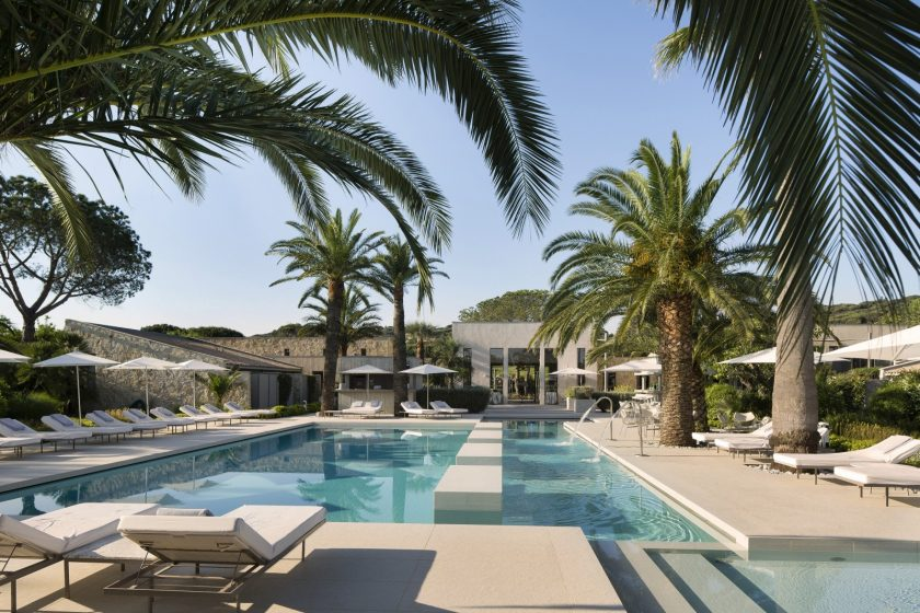 Hotel Sezz, Saint Tropez, France, one of 13 boutique hotels near a beach and with heated pool found on https://fromthepoolside.com