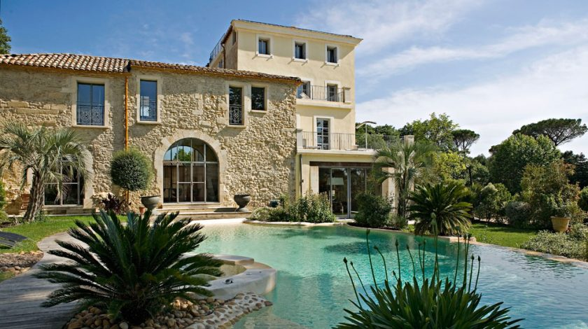 Domaine de Verchant, Montpellier, France, one of 13 beach boutique hotels with a heated pool found on https://fromthepoolside.com.