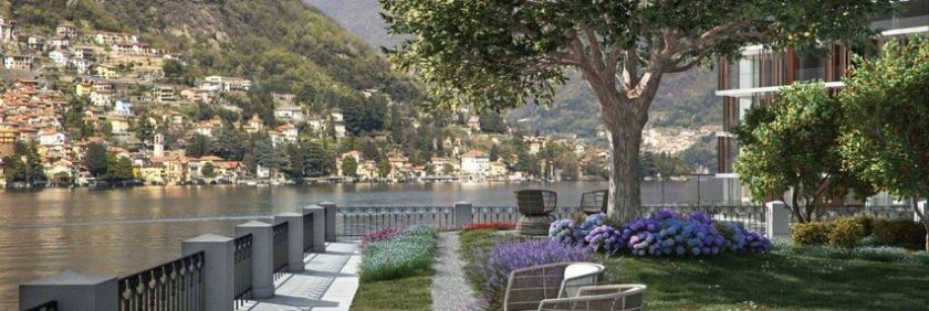 Sereno Lake Como, new luxury hotel opening in the lake regions in Italy.