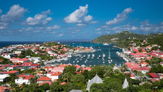 Saint Barth, French caribbean island