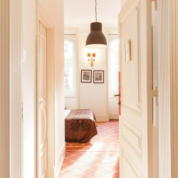 This is the kind of place you dream to discover: typical, authentic, welcoming, quirky and full of charm.  It's called The Independent, Suites and Terrace and is in Lisbon, Portugal