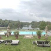 Domaine des Etangs totally enchanted us.  It's a fabulous five star luxury hotel in Charente, France.  You have to read this post (and the other 4) to see why we so loved it!