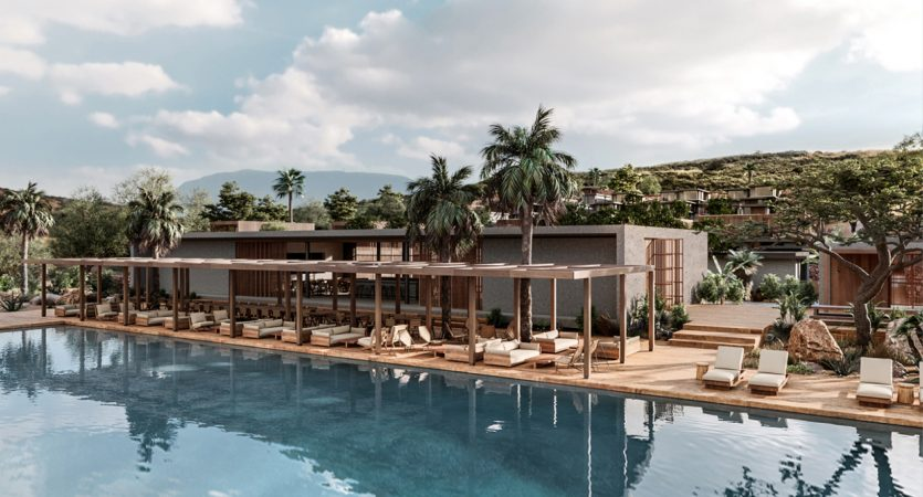 Casa Cook Chania, the new Casa Cook hotel but this time for families. Newly built in Crete, it will open its doors in September 2019. Rooms have private pools and can all have one, two or three children.