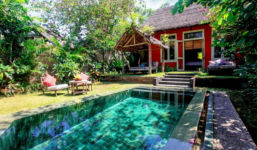 Hotel Tugu Lombok, one of the best hotels with pools as selected by travel bloggers. Read the post for more hotels with swimming pools around the world.