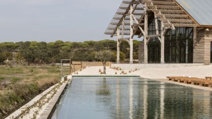 Quinta da Comporta one of the new Comporta hotels. Luxury hotel with a spa and a heated infinity pool.
