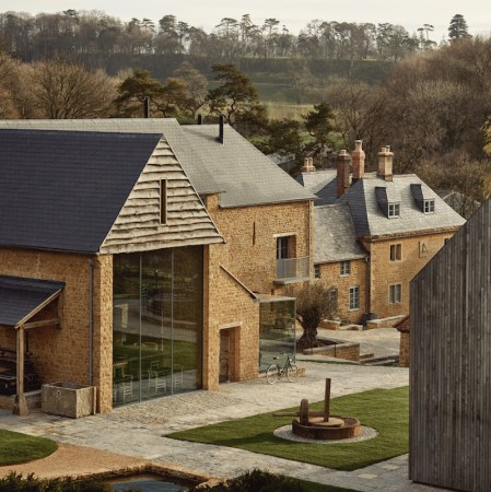 The farmyard at the newt, the new hotel opening at the newt; More family oriented but still beautiful