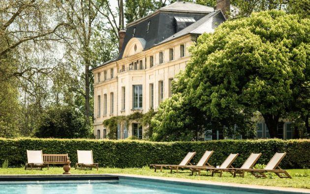 Domaine de Primard, new luxury hotel one hour from Paris.
