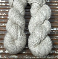 £ 7 each or £12 both Blueface/Masham Marble DK 2 skeins - one roving one plied -