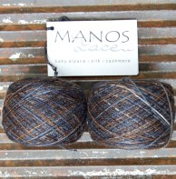 £24 for both - Manos del Uruguay Lace - 70% Alpaca, 25% Silk, 5% Cashmere - Orla colourway- 2 skeins 400m each - £25 both