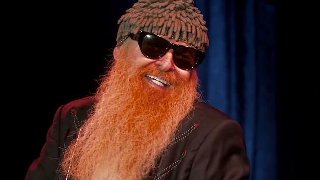 zz top frontman billy