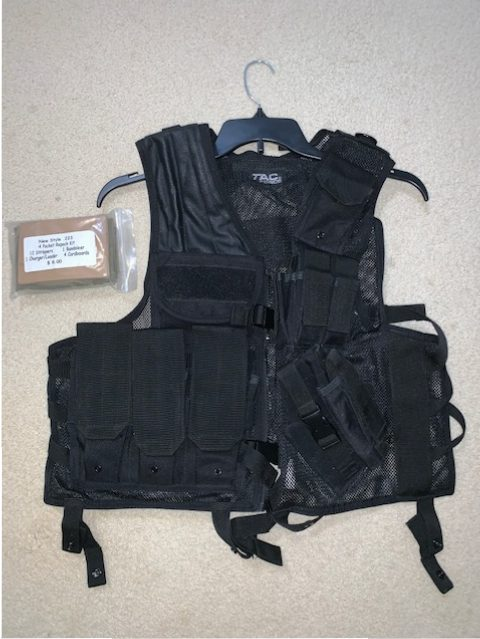Tactical Vest and a .223 repack kit