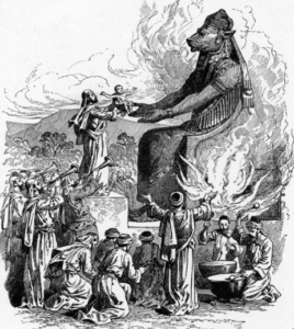 A family destroyed by Moloch