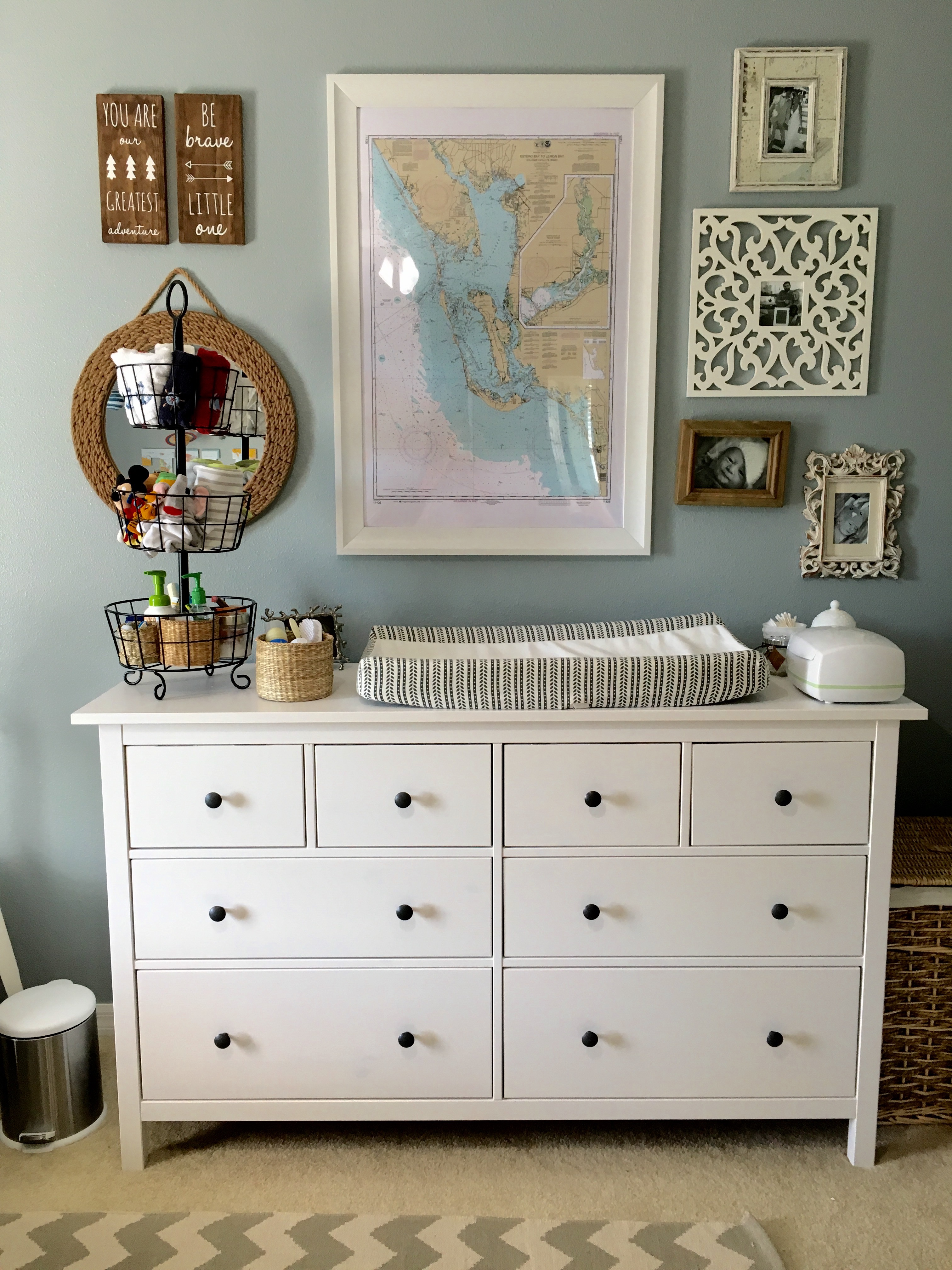 Baby Boy Nursery Style- J's Eclectic Nursery Creation | Baby Boy Nursery | Nursery Decor | Nursery Decorating | Baby decor | lifestyle blog | decorating |