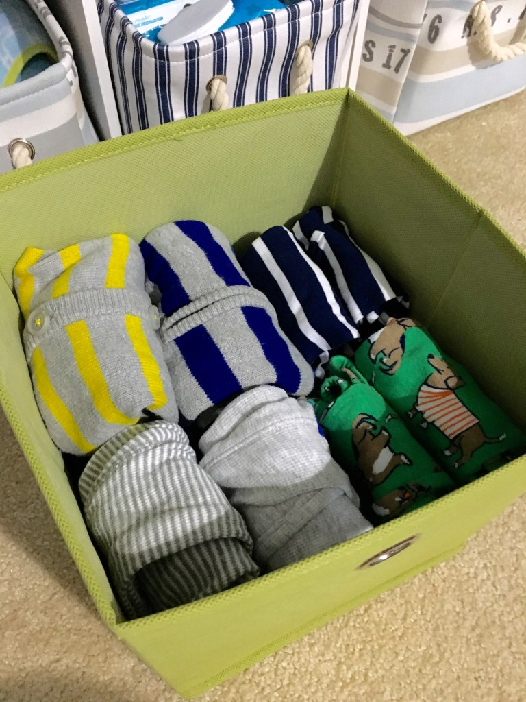 Baby J's Closet Finds | Baby Closet Organization | Baby Nursery | Baby organization | baby nursery decor | baby boy | baby closet | closet bins | organization | Organizers | baskets | tips | labels | shelves | clothes | DIY | ideas | closet organization |
