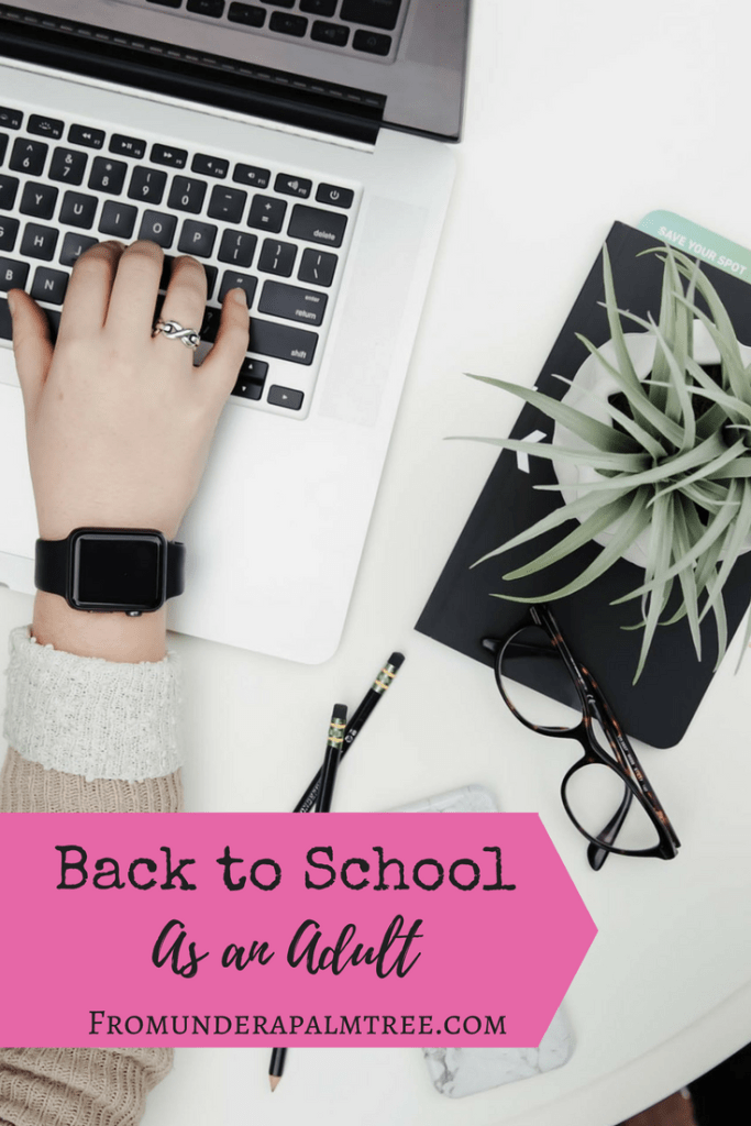 back to school as an adult | going back to college | back to school | adult in school again
