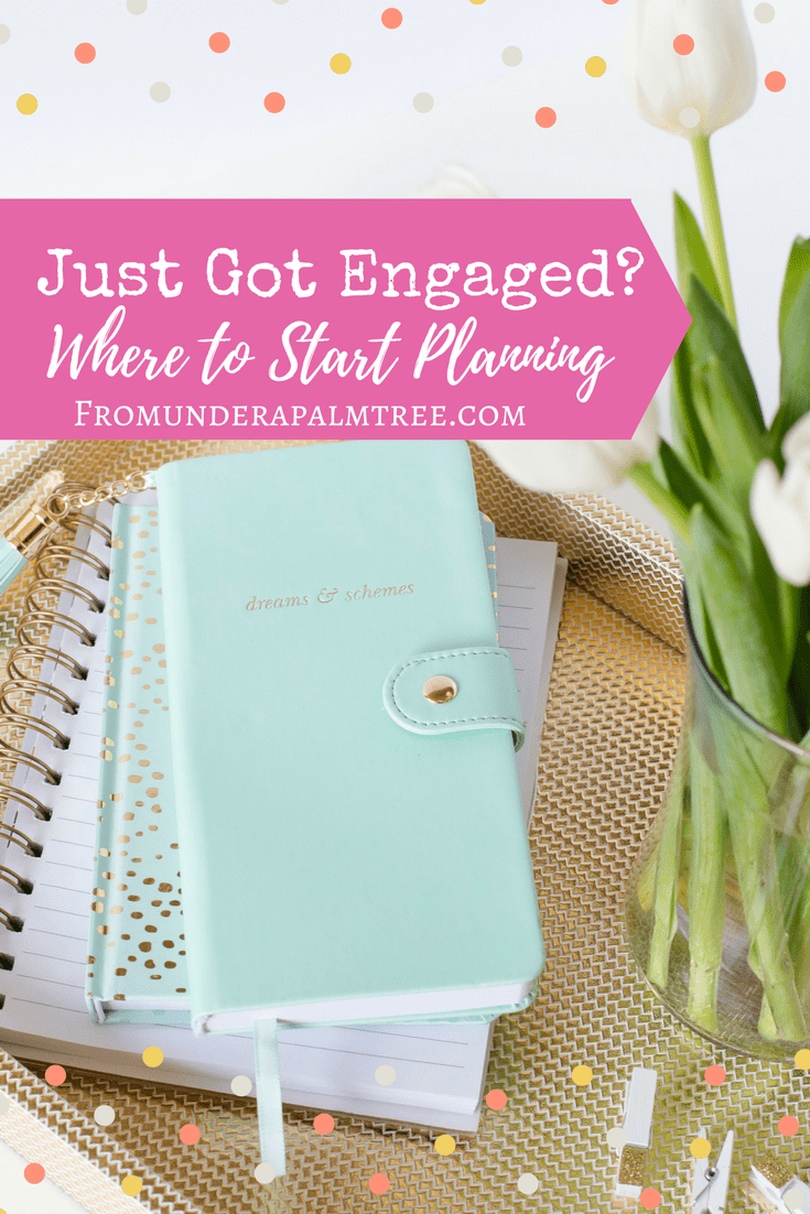 Just Got Engaged? Where to start planning by From Under a Palm Tree