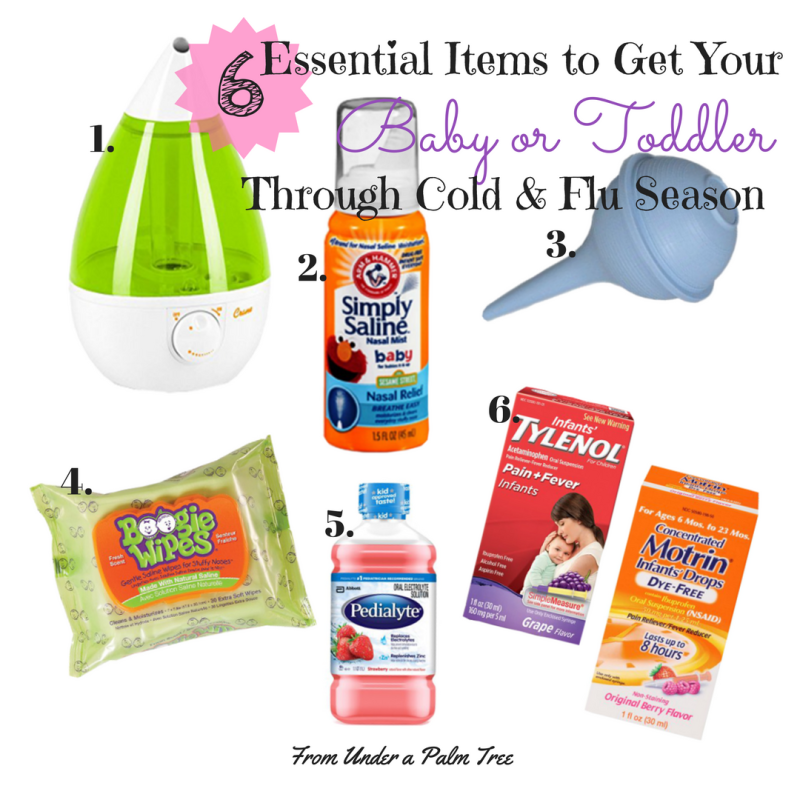 Getting Your Baby or Toddler Through Cold and Flu Season