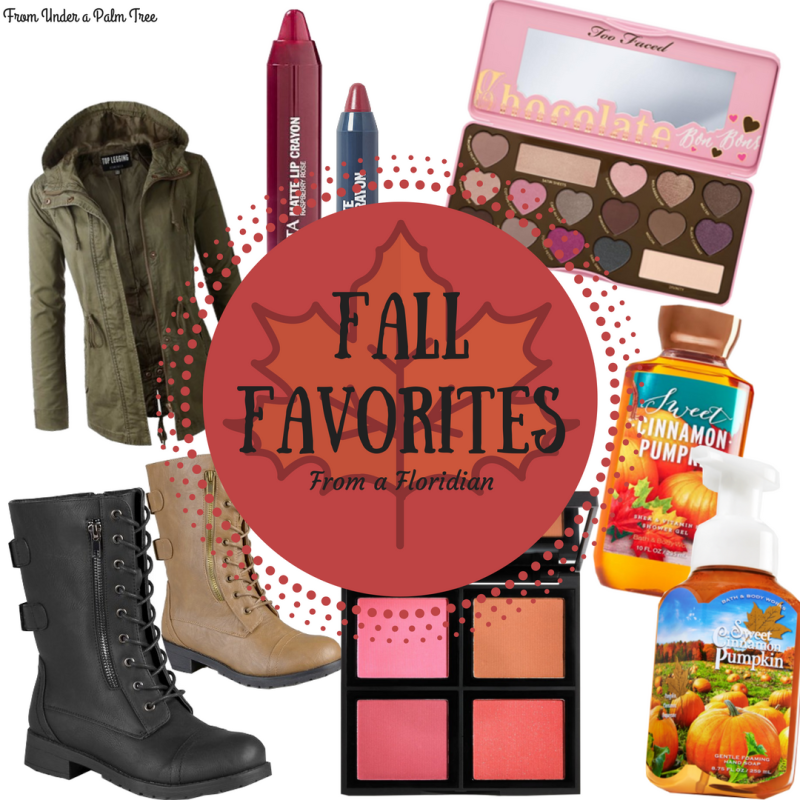 Fall Favorites - From a Floridian