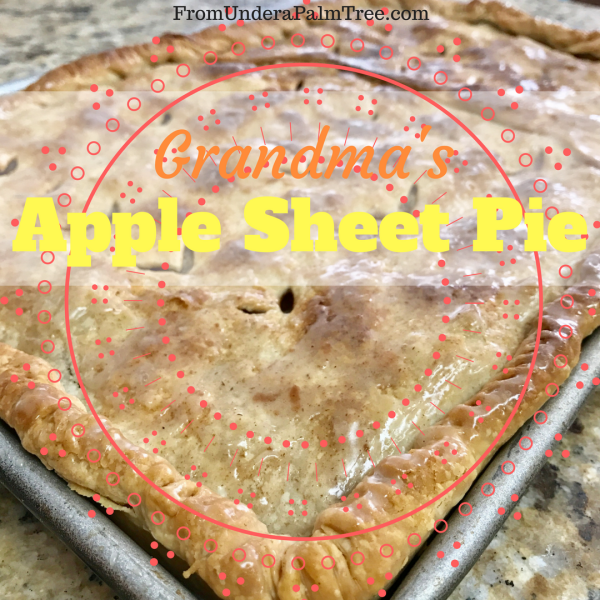 Apple Sheet Pie