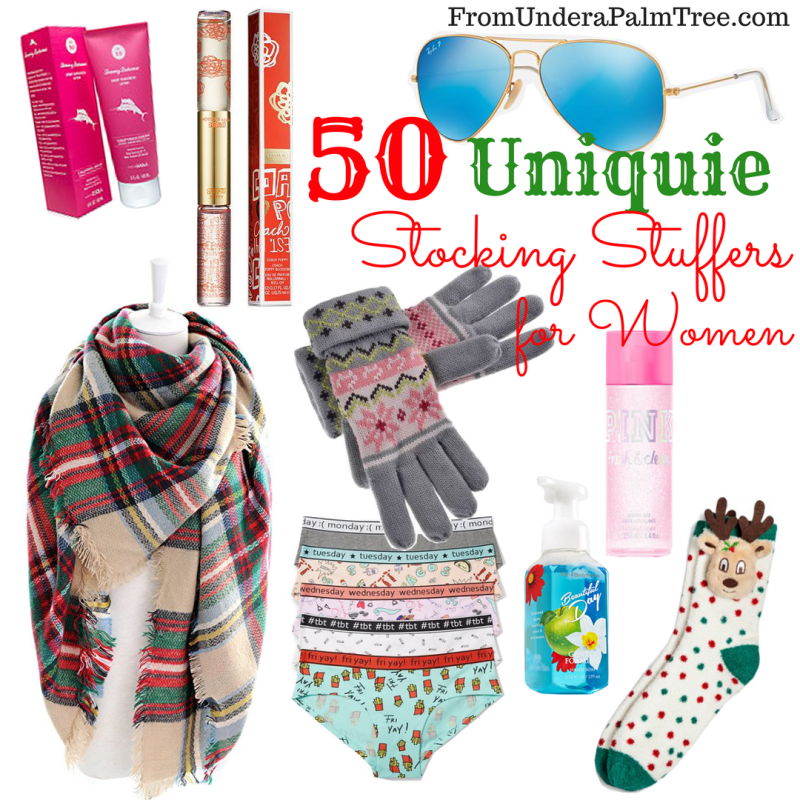 Unique Stocking Stuffers for Women