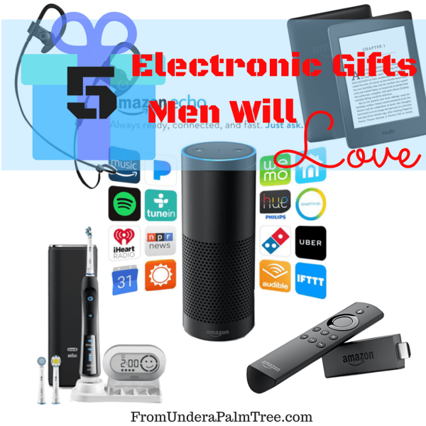 5 Electronic Gifts Men Will Love
