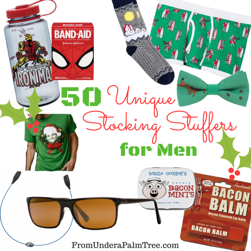 50 Unique Stocking Stuffers Men