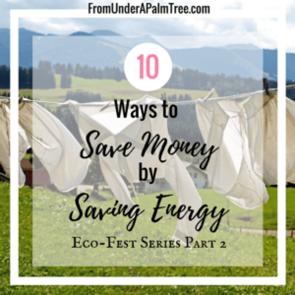 10 Ways to Save Money by Saving Energy by From Under a Palm Tree