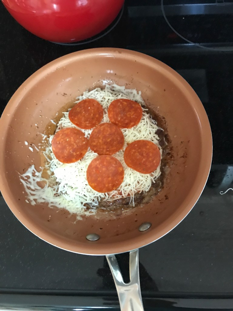 Low Carb Meatzza by From Under a Palm Tree
