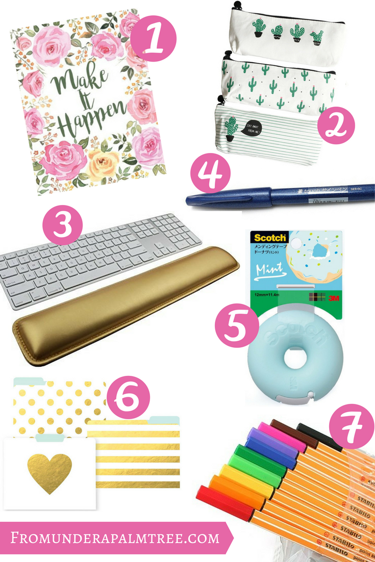 School supplies for adults | fun office supplies | cute office supplies | Decorate your desk | back to school for adults | back to school | adults | office | organization | decorating | office decor | office supplies |