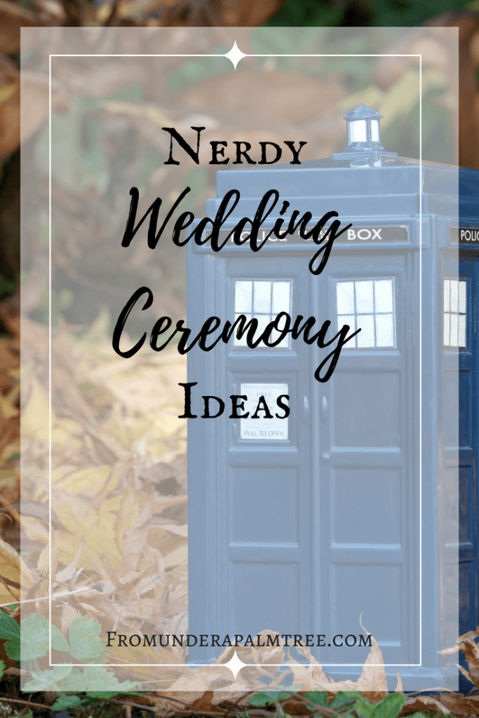 Looking for nerdy Wedding Ceremony ideas? Click here for something nerdy to add to your wedding ceremony! | Doctor Who | Harry Potter | Harry Potter wedding | Harry Potter Wedding Ceremony | Harry Potter unity ceremony | Unity Ceremony | Nerdy unity ceremony | nerdy wedding ceremony ideas | Doctor who wedding | doctor who unity ceremony | deathly hallows unity ceremony | Tardis time capsule |
