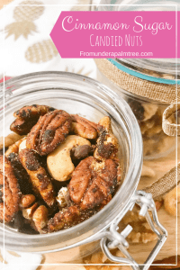 How to make cinnamon sugar candied nuts | Cinnamon Sugar Nuts | Cinnamon Sugar | Cinnamon Sugar Candied Nuts | easy | recipe | candy recipe | DIY | holiday snacks | snacks | party food | sweat treat | recipe | walnuts | pecans | cashews | nuts |