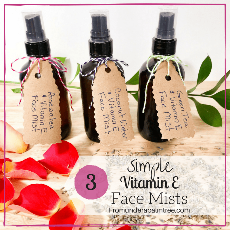 How to make face mists | DIY face Mist | DIY Mist | Beauty | DIY | Vitamin E | Essential Oil Face Mists | Essential Oils | DIY Mists | Green Tea | Lavender | Rosemary |