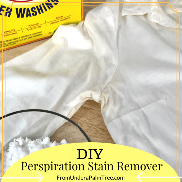 stain remover | DIY | DIY stain remover | sweat stain remover | sweat stains | tshirt sweat stain remover | how to get sweat stains out of white shirt | how to get sweat stains out of shirt | how to get perspiration stains out of shirt | DIY stain removal | laundry secrets | DIY laundry | stain remover recipe | stain remover ideas | How to get rid of tough yellow stains | how to get armpit stains out | how to remove armpit stains |