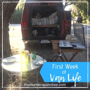 First Week of Van Life