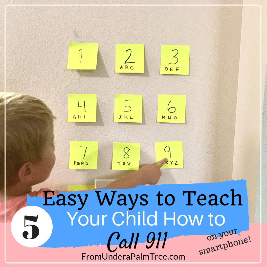 Teach Your Child How To Call 911