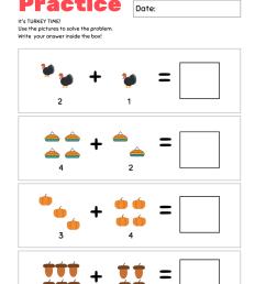 Thanksgiving Kindergarten Worksheet Pack \u003c From Under a Palm Tree [ 1102 x 735 Pixel ]