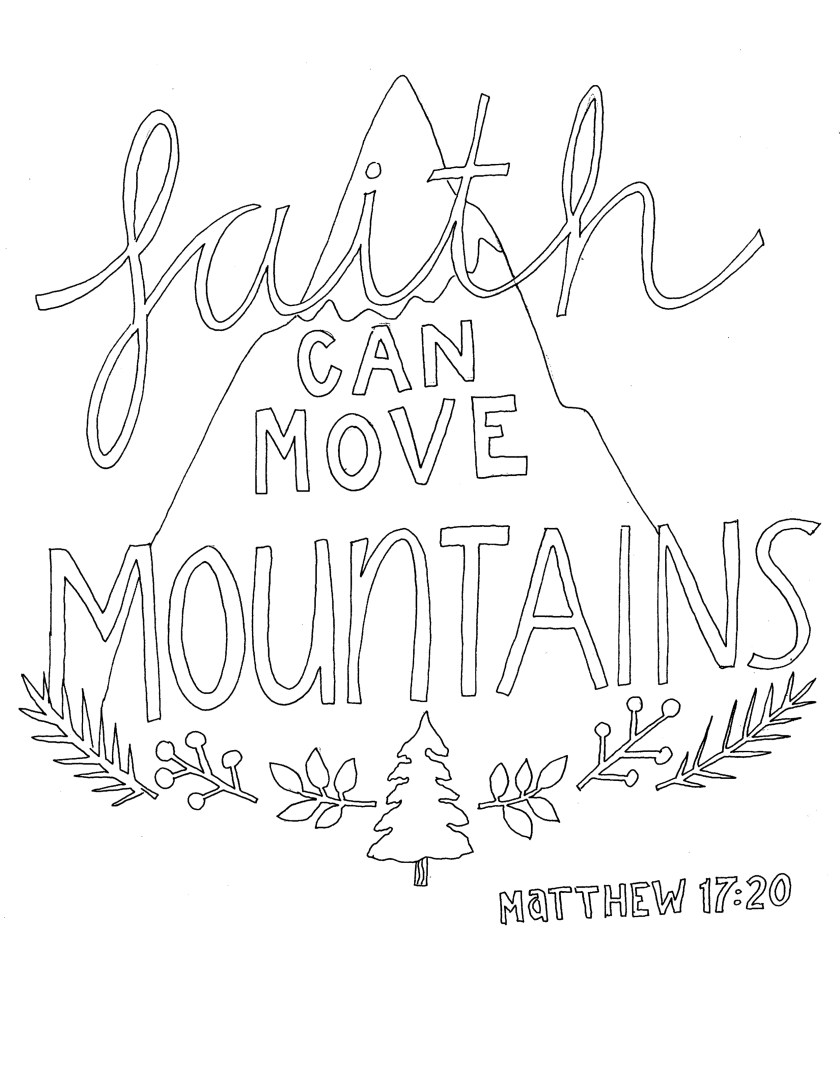 faith can move mountains – from victory road