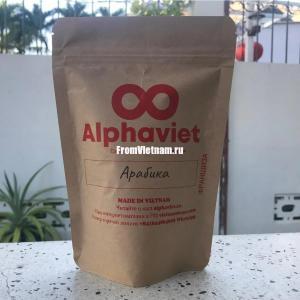 Кофе Арабика в зернах АльфаВьет 200г