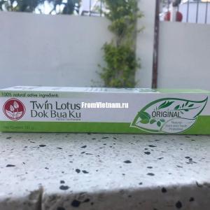 Черная зубная паста на основе тайских трав 150г