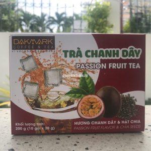 Фруктовый чай с Маракуйей и семенами Чиа Dakmark 10 пакетиков