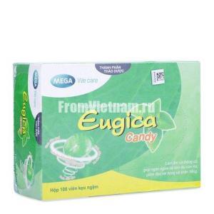 Eugica Candy Леденцы от кашля Еугика для детей и взрослых 100шт